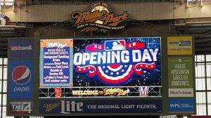 opening day board
