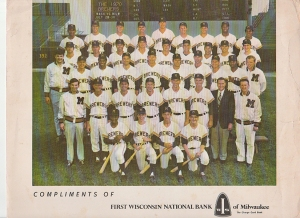 1970 brewers team photo