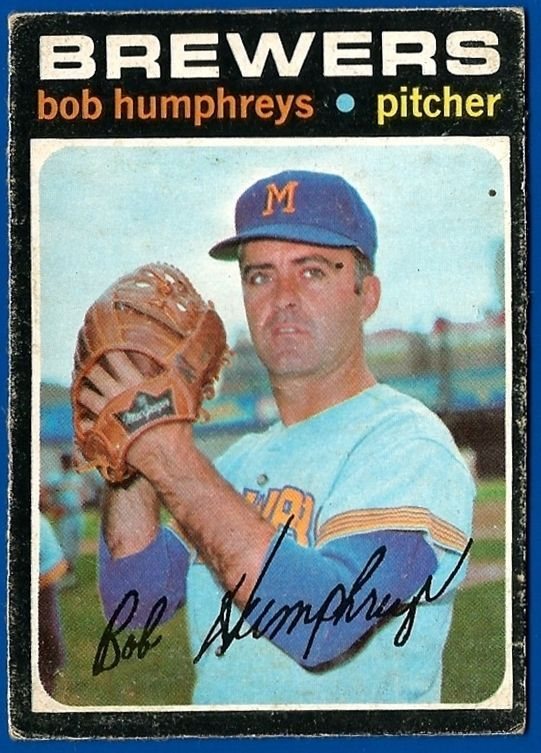 Bob Humphreys baseball card