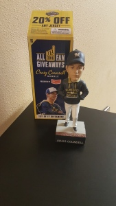 Craig Counsell Manager Bobblehead