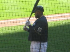 One of my favorite photos I took of Prince Fielder - just a quiet moment on deck