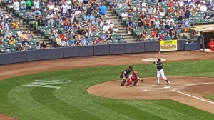 This may be Ryan Braun's final home at bat in a Brewers uniform.