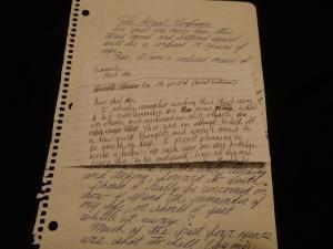 My original scribbling